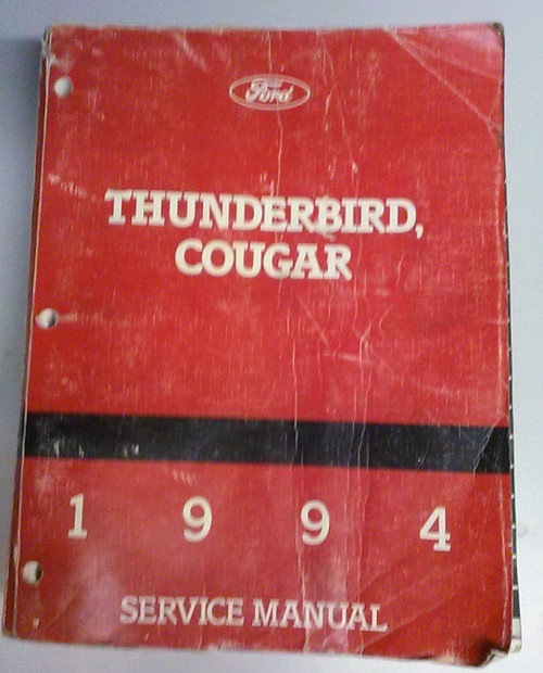 1994 Thunderbird / Cougar Electrical & Vacuum and Service Manual Set