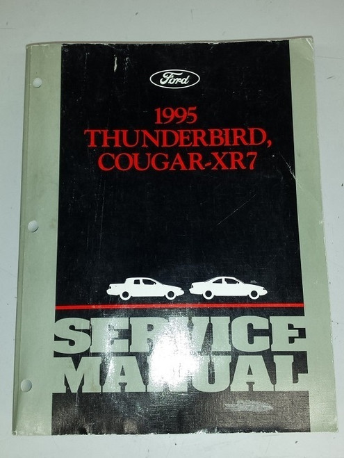 1995 Thunderbird / Cougar Electrical & Vacuum and Service Manual Set