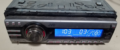 JVC KD-G420  CD/MP3/AM/FM Player with OEM Wire Harness