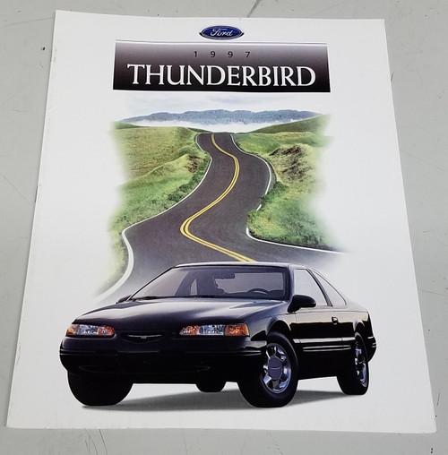 1997 Thunderbird Sales Brochure