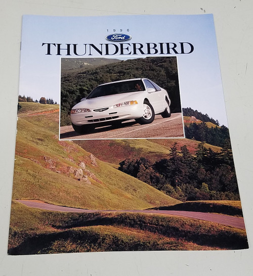 1996 Thunderbird Sales Brochure