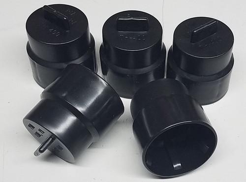 (5) Transmission Cap Plug TH400 4L80E C6 E4OD 4R100 727