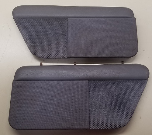 Rear Speaker Cover Set - Gray Cloth - 1989 - 1993 - Grade B