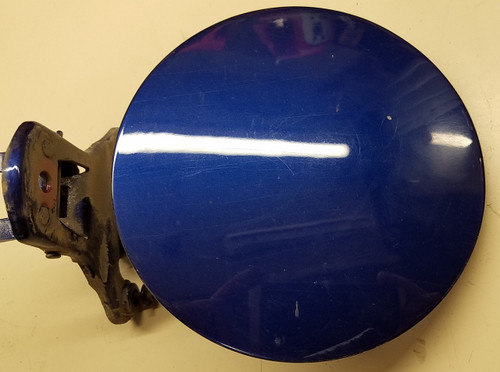 Fuel Door - Blue - With Lock - Grade A