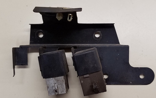 ABS Hydraulic Pump and Power Relay with Bracket - 1989 - 1992