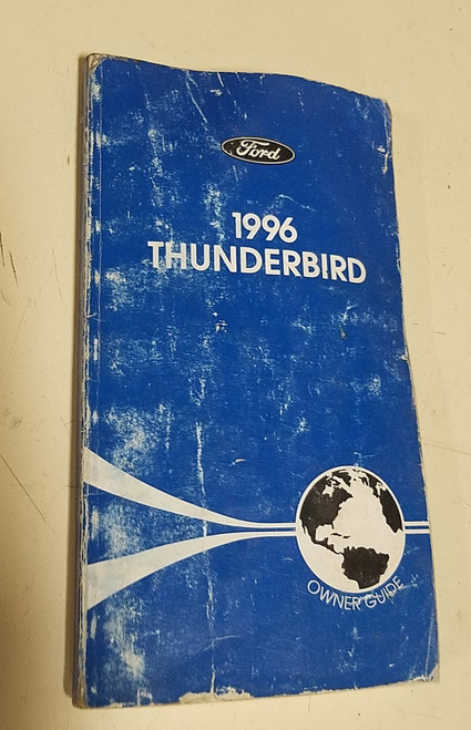 1996 Thunderbird Owners Manual