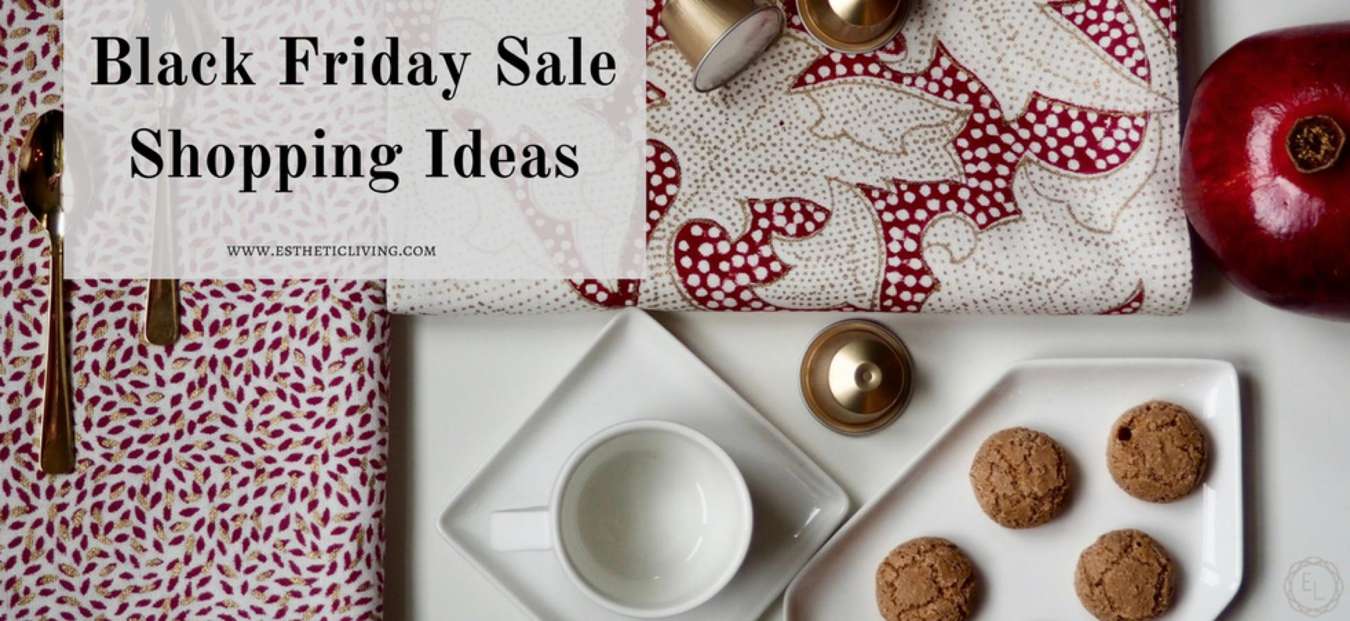 Esthetic Living Black Friday Sale