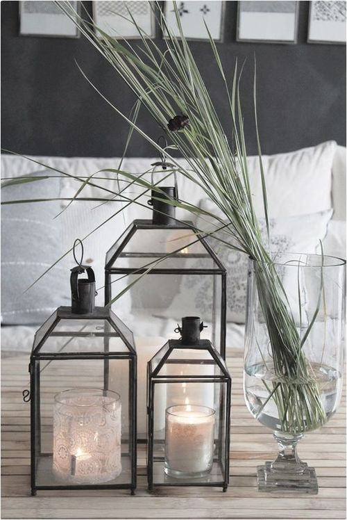 Decorating with Lanterns Indoor and Outdoor - Esthetic Living