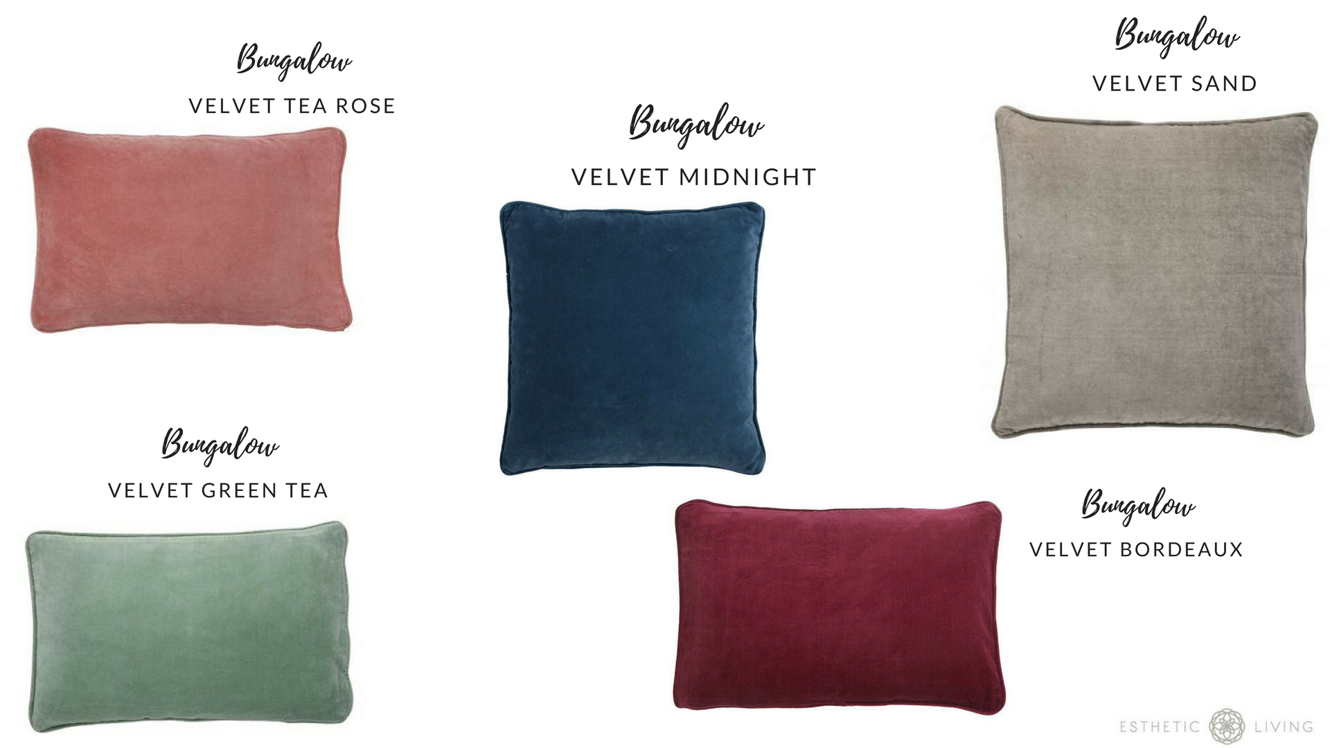 Decorating with Bungalow Velvet Cushion Covers for Fall - Esthetic ...