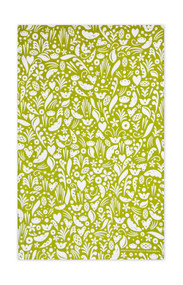 Jangneus Swedish Tea Towels - Dala - Green - 100% cotton