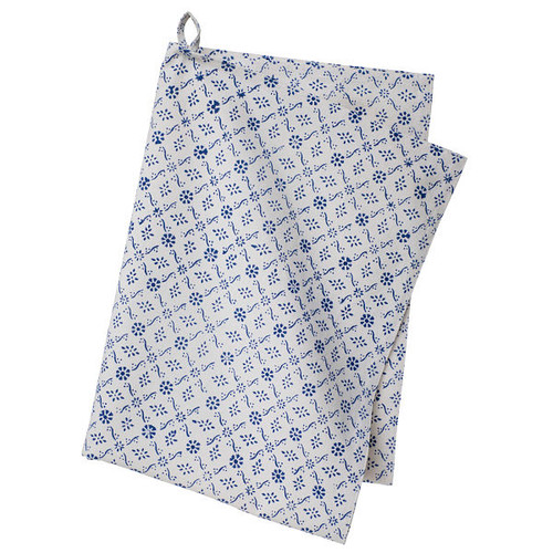 Colorful Cotton Kitchen Towel - Molly - Blue