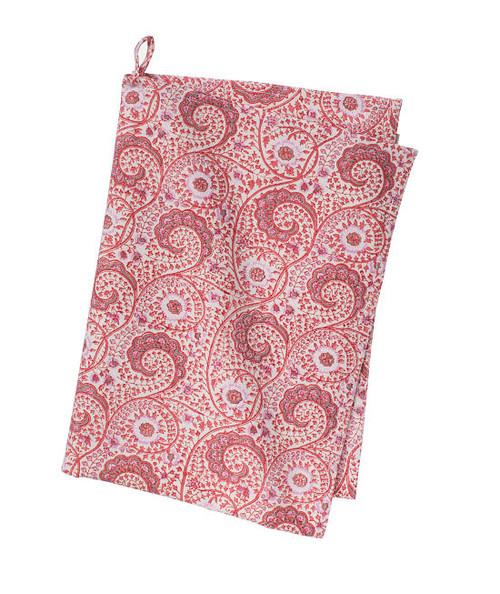 Colorful Cotton Kitchen Towel - Madura - Rose