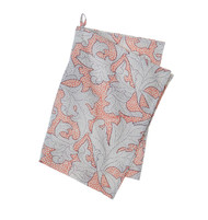 Colorful Cotton Kitchen Towel - Flora - Nude