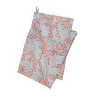 Colorful Cotton Kitchen Towel - Flora - Nude