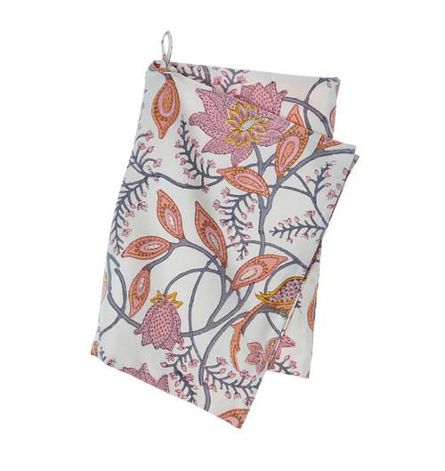 Colorful Cotton Kitchen Towel - Phulphul - Grey Nude