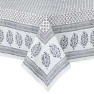 "Tablecloth - Meena - Grey - 71""x 118"""