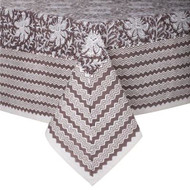 Tablecloth - Lakhsmi - Clay from Bungalow in Denmark