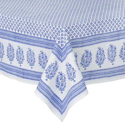 Tablecloth   Meena   Blue From Bungalow In Denmark