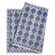 "Table Runner - Kamal - Blue - 20""x 63"""
