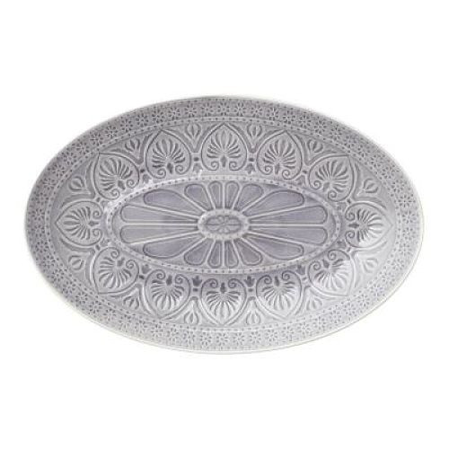 Oval Dish - Light Grey - Large