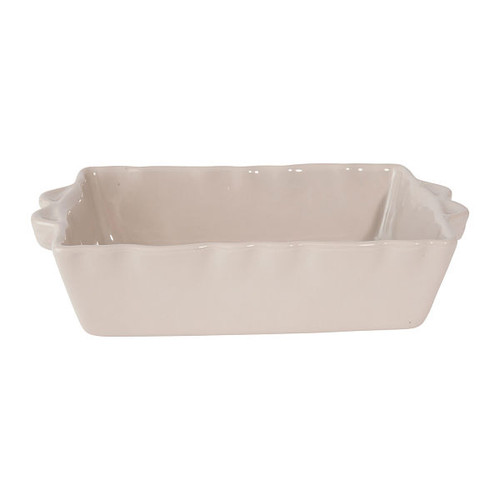 French Baking Dish - Light Grey - Small from Côté Table in France