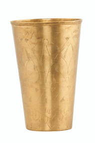 Brass vase Lassi from House Doctor