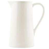 Ceramic Pitcher - White - Large