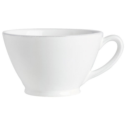 Handled Bowl - Constance - White