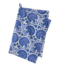 Contemporary High Quality Kitchen Towel - India - Blue