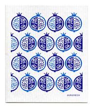 Swedish Dishcloth - Pomegranate - Blue