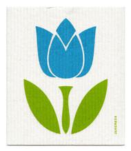 Swedish Dishcloth - Tulip Large - Turquoise