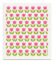 Swedish Dishcloth - Tulip Small - Pink