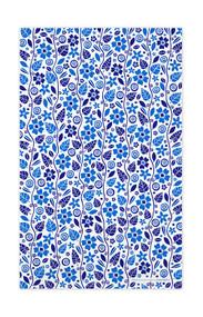 Swedish Kitchen Towels - Garden - Blue
