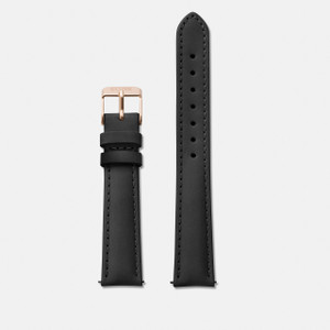 Cluse Minuit Watch Strap Black/Rose Gold