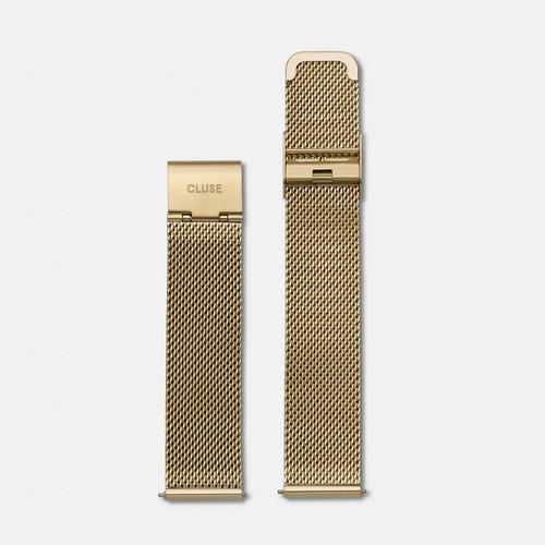 Cluse La Boheme Watch Strap Mesh Gold CLS046