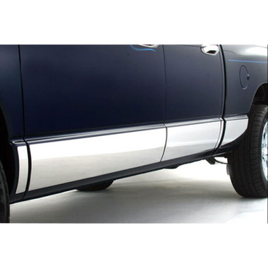 Auto Reflections | Side Molding and Rocker Panels | 07-13 Chevrolet Silverado 1500 | R2022-Chrome-Rocker-Panels