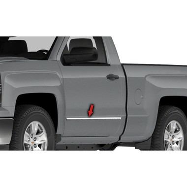 2000 2001 2002 2003 2004 2005 2006 Chevy Suburban Chrome Stainless Steel Fender Trims 4pcs besides Replace Crash Parts Fender Flares 2245130 besides Tfp Valutrim Fender Trim 137410957 together with Cheyenne Trucks together with 221608593762. on gmc sierra fender moldings