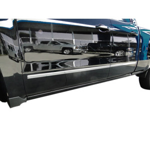 Auto Reflections | Side Molding and Rocker Panels | 14-15 Chevrolet Silverado 1500 | R2146-Silverado-Moldings