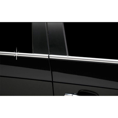Auto Reflections | Window Trim | 07-12 Mercedes GL Class | r4521-mercedes-chrome-window-trim