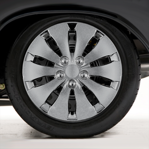 """Set of Four 16"""" Chrome ABS Wheel Covers for 2008-2012 Honda Accord (Push-on)"""