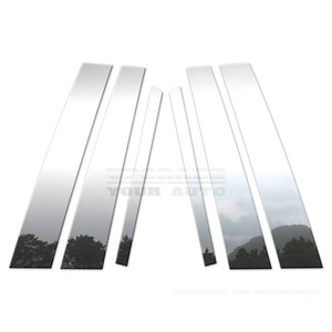 Brite Chrome | Pillar Post Covers and Trim | 98-12 Lincoln Town Car | BCIP110