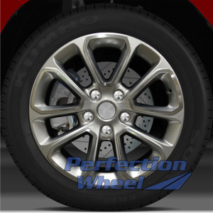 14-15 Jeep Grand Cherokee 18x8 Wheel (Hyper Med Silver Machd Bright Painted OD)