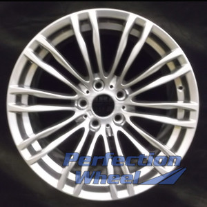 2012-2015 BMW M5 19x9 Factory Front Wheel (Bright Charcoal Hypersilver)