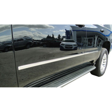 Auto Reflections   Side Molding and Rocker Panels   15 Chevrolet Suburban   CMT0153