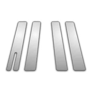 Auto Reflections   Pillar Post Covers and Trim   04-09 Lincoln Aviator   P4015X-Chrome-Pillar-Posts
