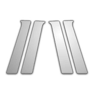 Auto Reflections   Pillar Post Covers and Trim   04-08 Mitsubishi Galant   P4816-Chrome-Pillar-Posts