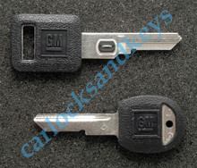 1987-1990 OEM Chevrolet Corvette VATS & Secondary 'D' Key Blanks