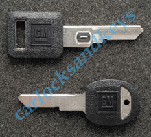 1991-1996 OEM Chevrolet Corvette VATS & Secondary 'H' Key Blanks
