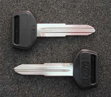 1988-1992 Toyota Corolla Sedan, Coupe & Hardtop Key Blanks