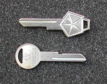 1983-1984 Dodge 600 & New Yorker Key Blanks